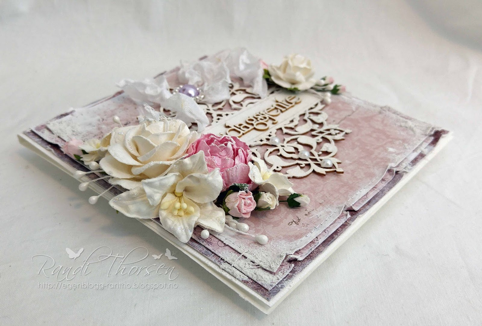 Wild Orchid Crafts: Shabby Chic Card