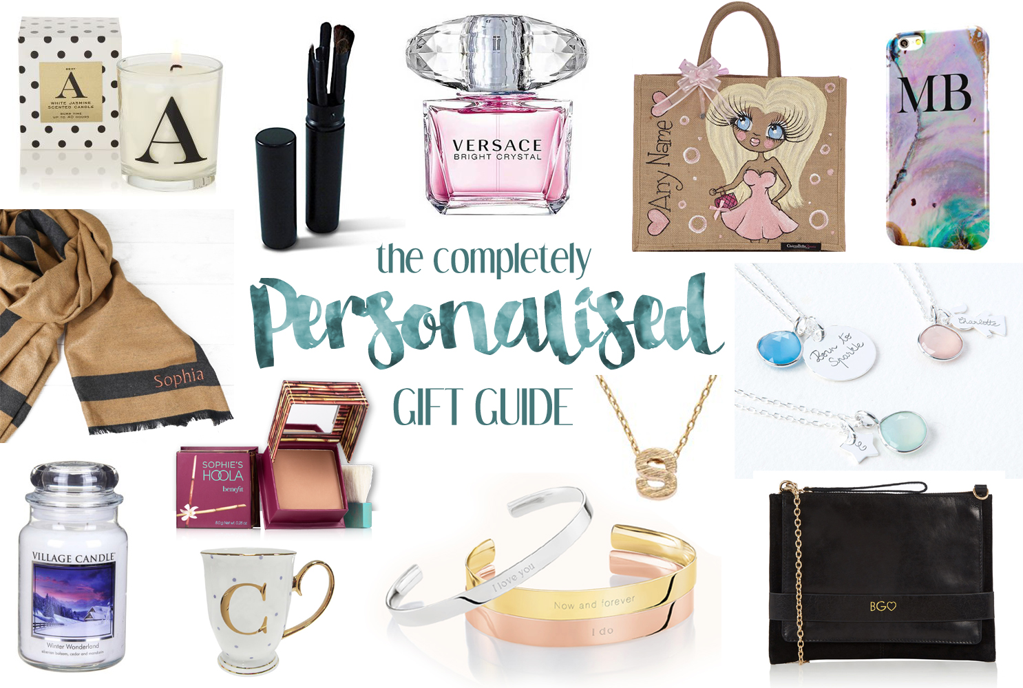 The Completely Personalised Gift Guide | Katie Kirk Loves