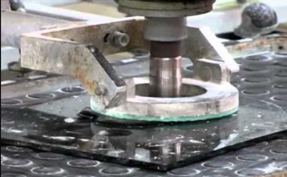 Automatic Pneumatic Glass hole Drilling Machine