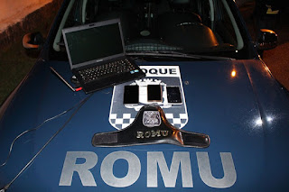 ROMU da GCM de Ribeirão Pires prende quadrilha que furtava celulares