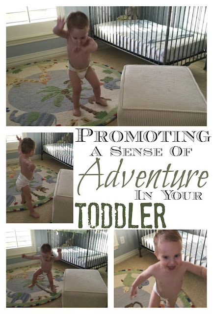 Why having an adventurous toddler is so important for their development and how to get your toddler to use his/her brain and body with creative play