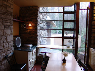 Kitchen in Fallingwater