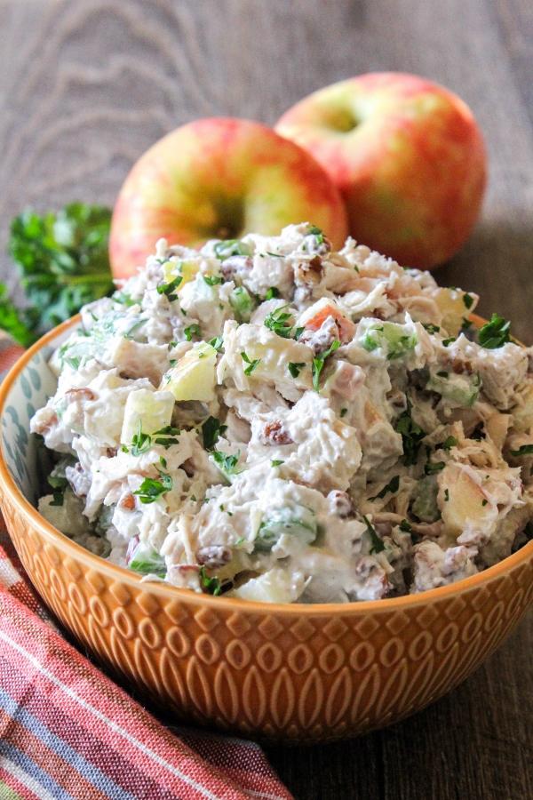 Apple Pecan Chicken Salad Appleweek