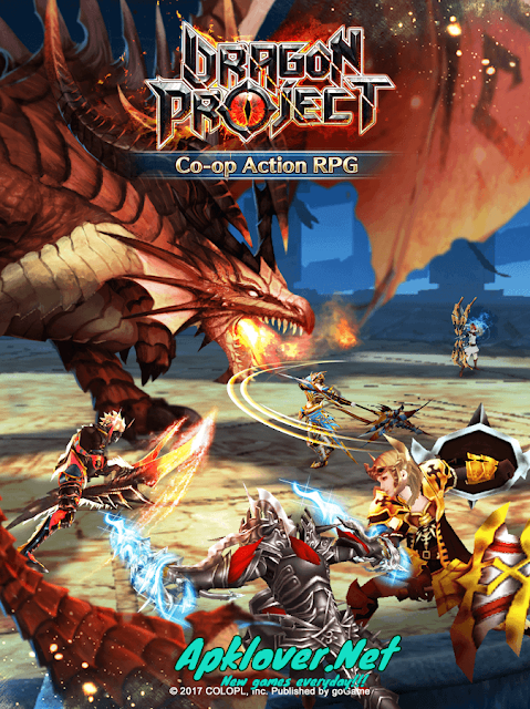 Dragon Project MOD APK high damage