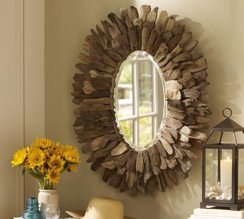 Driftwood Mirror Pottery Barn