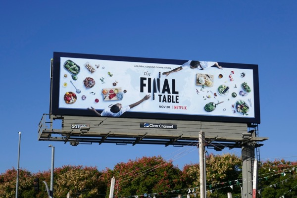 Final Table series premiere billboard