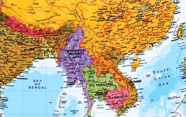 letak astronomis, geografis dan geologis laos