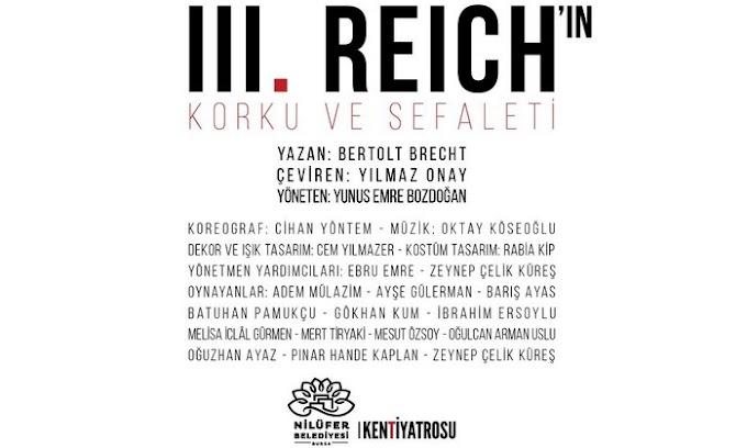III. Reich'in Korku ve Sefaleti tiyatro incelemesi