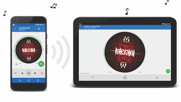 SoundSeeder ponsel ke tablet Android