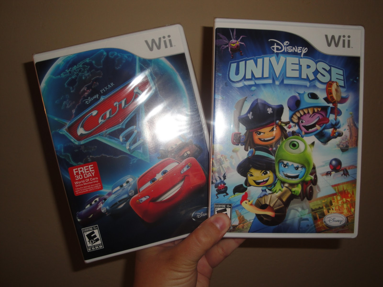 Disney Wii Games: Cars 2 & Disney Universe Review | Frugal Family Tree