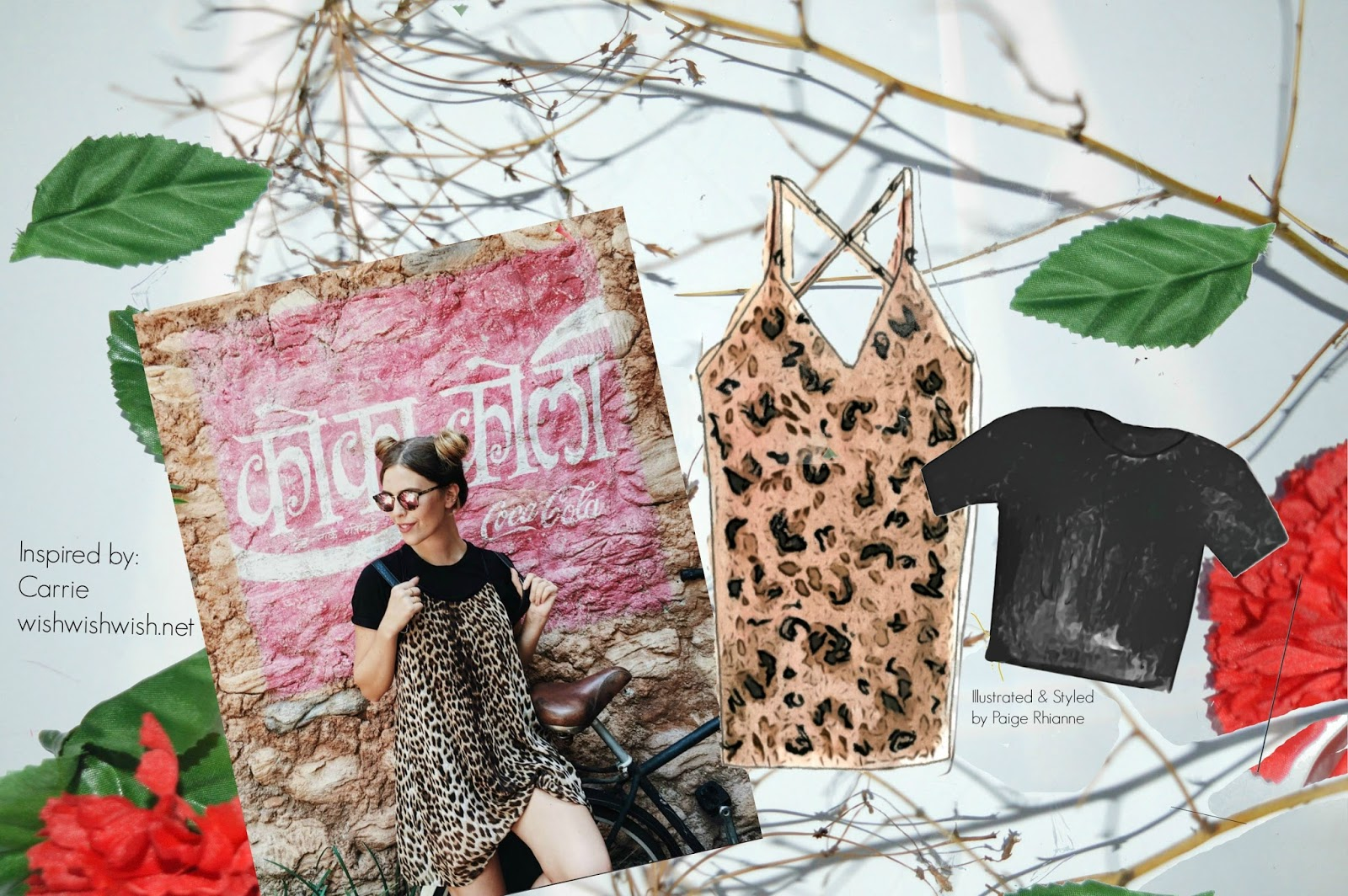 leopard print fall favourites held together by pins