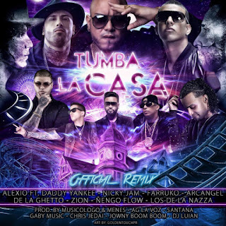 remix, Tumba La Casa, Alexio La Bestia, Nicky Jam, Daddy Yankee
