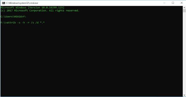 Cara Mengmbalikan file yang hilang di flasdisk