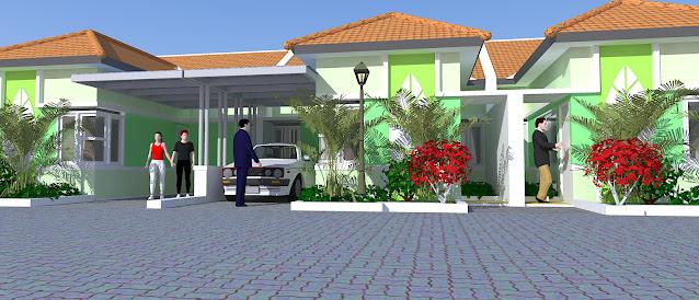 Gambar Tampak Townhouse