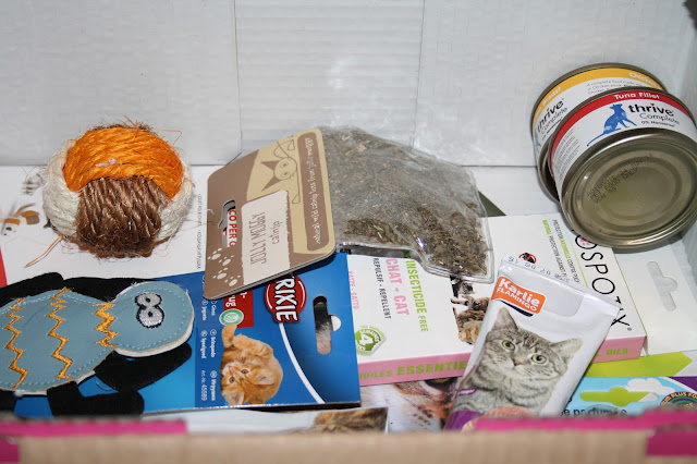 Purrfect Box for Cats - April Edition