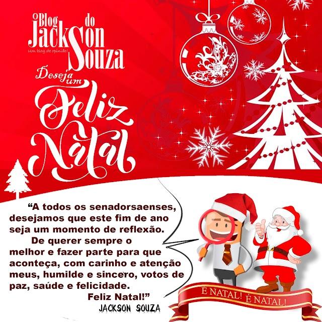 """Desejamos a todos um """"Feliz Natal!"""""""