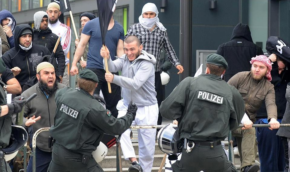 Image result for muslim violence in germany