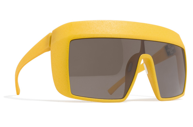The amazing Mykita Mylon 2012 collection: Nova ski sunglasses in sunshine