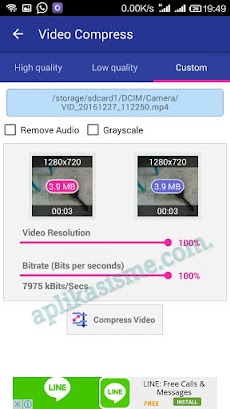 Perkecil Ukuran Video Menggunakan Hp Android
