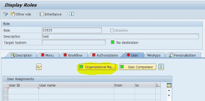 Indirect Role assignment in SAP HR