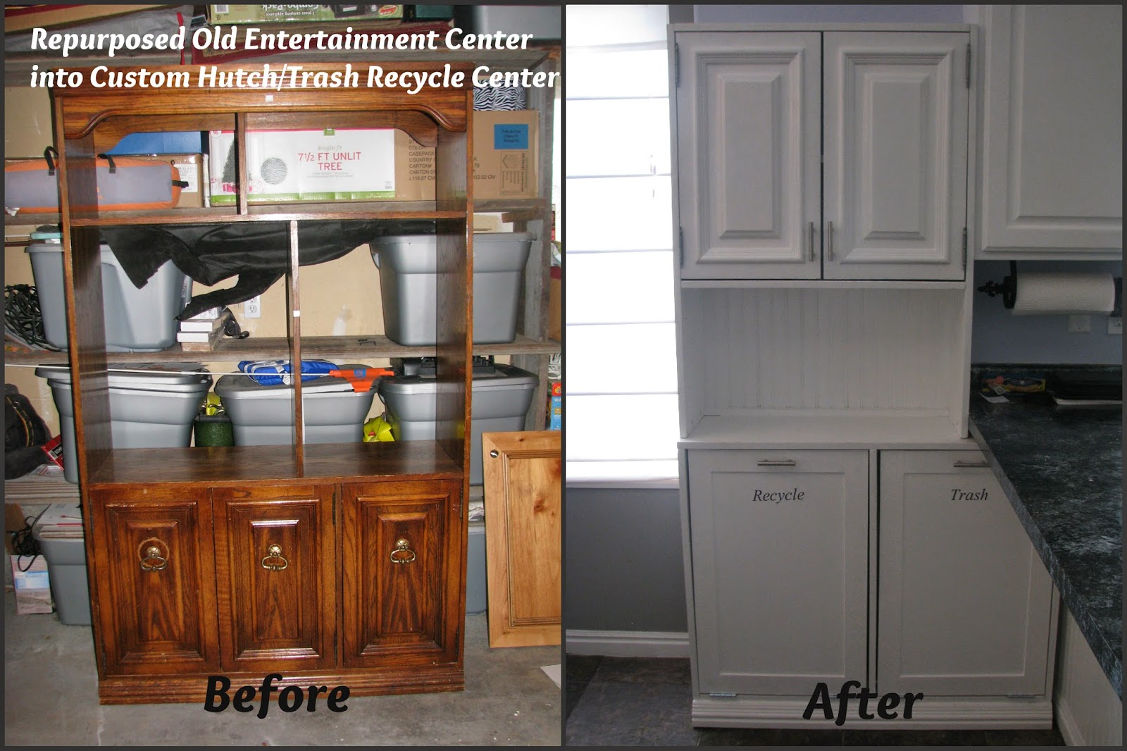 My So-Called DIY Blog: Repurpose an Old Entertainment Center ...