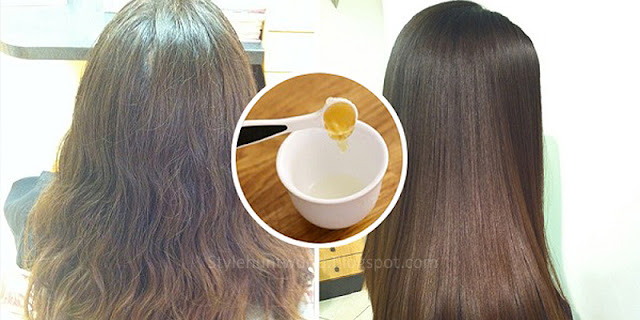 How To Straighten Hair Naturally With These 2 Ingredients - 100% Effective!