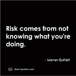risk comes from warren buffett quote