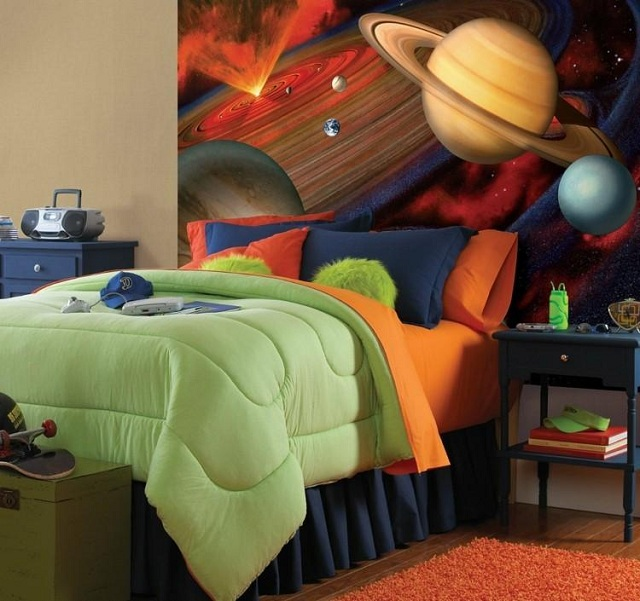 dormitorios infantiles de universo