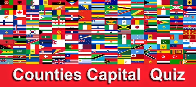 Countries and Capitals Quiz with Multiple Choice | Kerala Boys