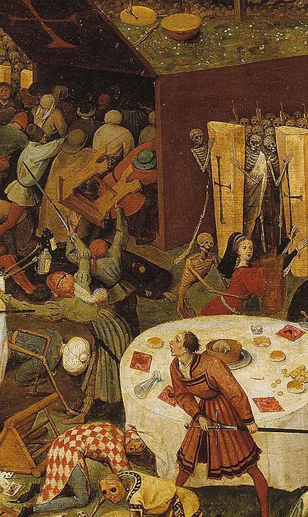 Andreas Musculus 'não é possível piorar'. O Triunfo da Morte, Pieter Brugel
