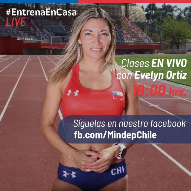 Deportistas de alto rendimiento se suman a campaña #EntrenaEnCasa