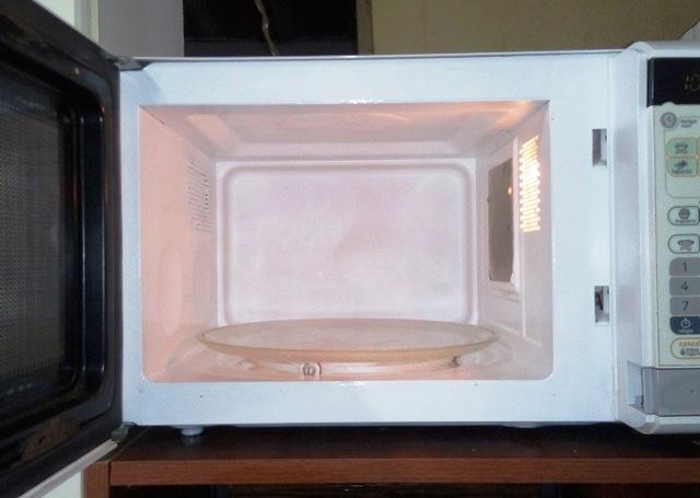 microondas reformado em casa