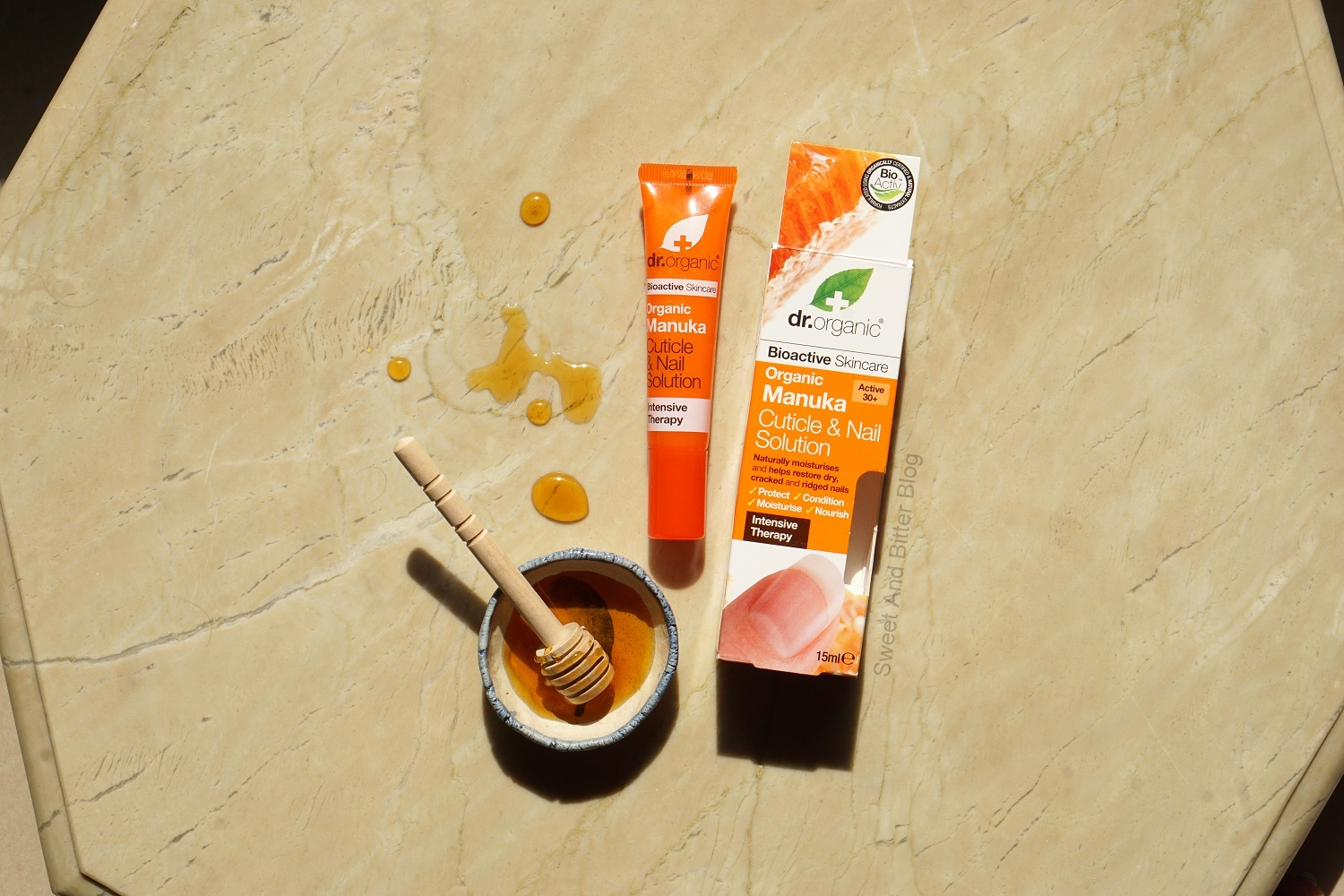 Dr Organic Manuka Honey Cuticle and Nail Solution Review India