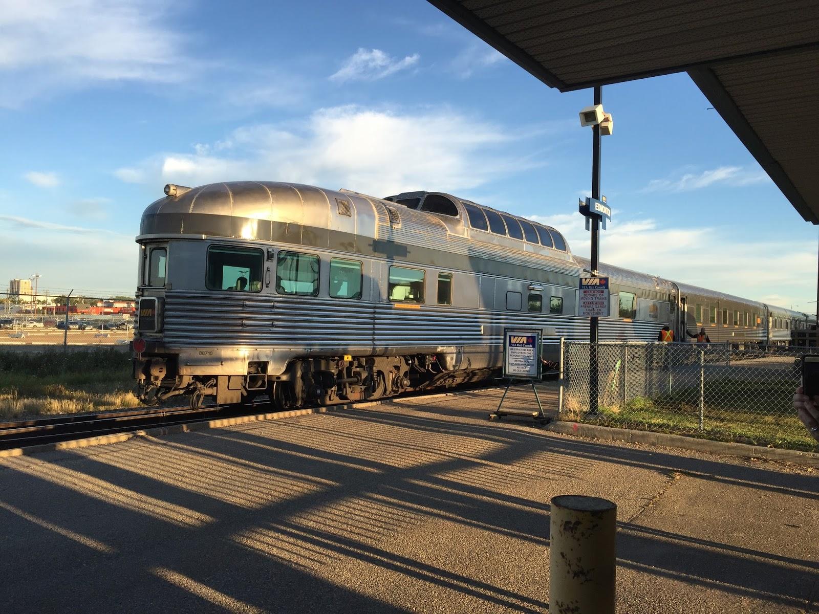 A train ride essay