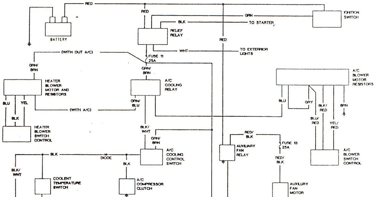 Free Auto Wiring Diagram: BMW 320i AC Wiring Diagram