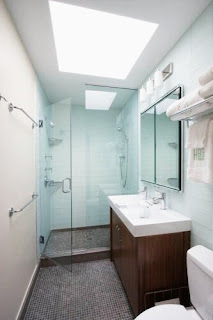 The most beautiful small bathroom and comfortable