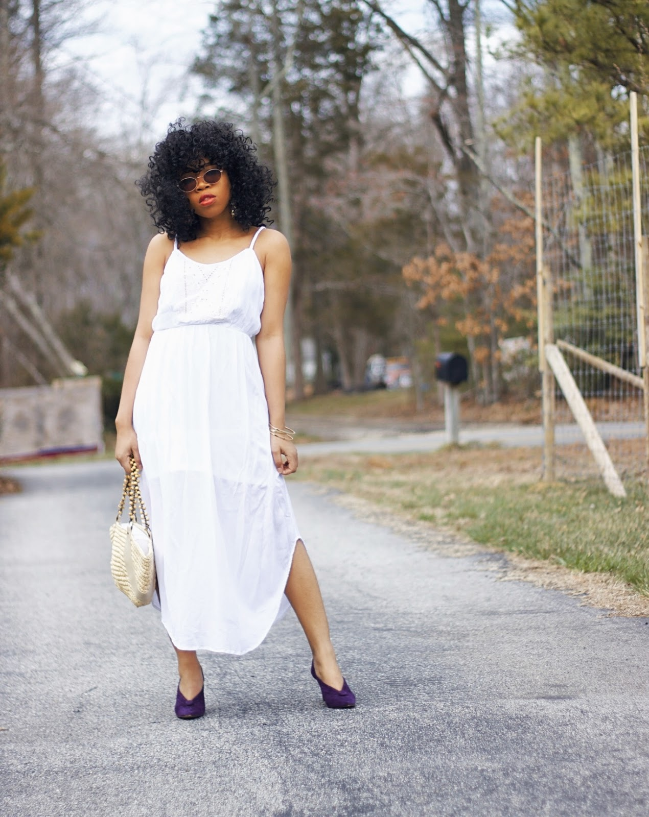 HOW TO STYLE A WHITE DRESS FOR SPRING
