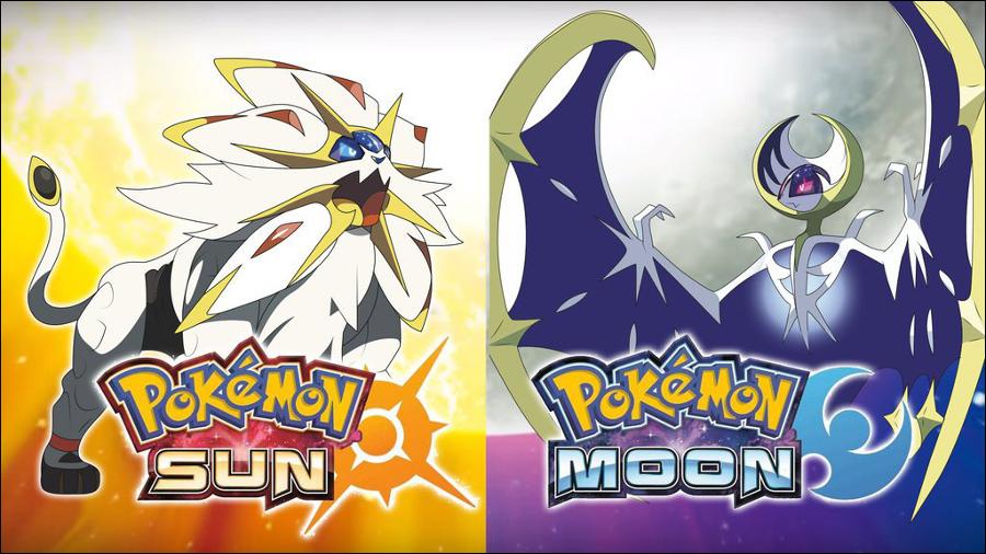Novidades de Pokémon Sun e Moon