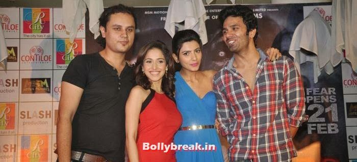 , Nushrat Bharucha Hot in Red Dress for Darr @ the Mall Movie Promotion