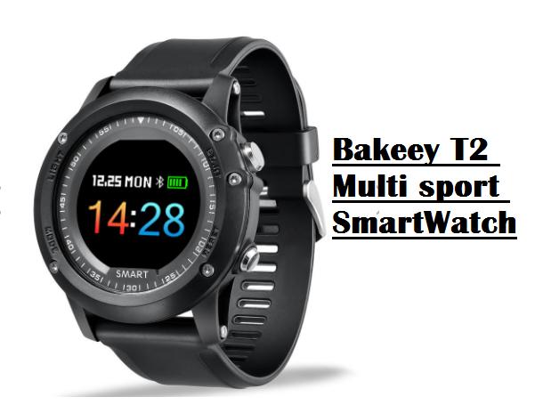 Bakeey T2 Multi sport Smartwatch  Specs