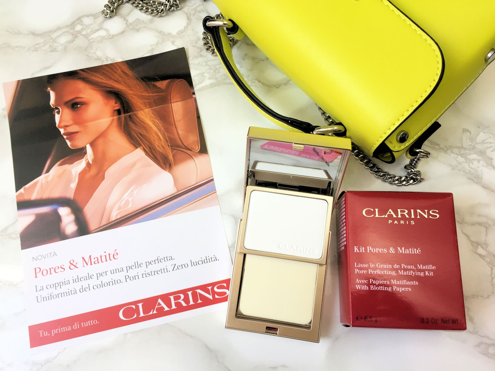 Clarins Duo Effetto Mat Pores & Matité, trucco per selfie migliori su Fashion and Cookies beauty blog, beauty blogger