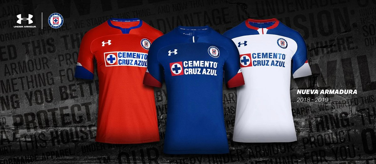 44b2b9e18e1 Cruz Azul 18-19 Home, Away & Third Kits Released - Footy Headlines