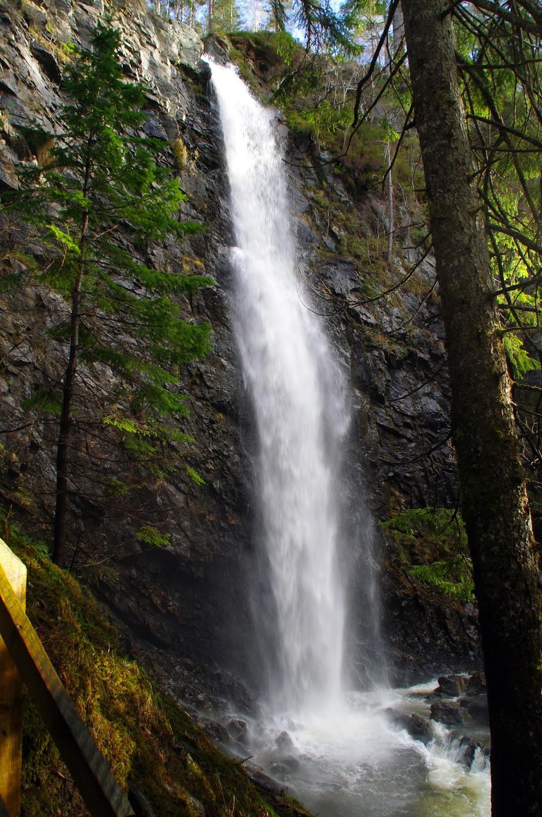 Plodda Falls Scottish Highlands