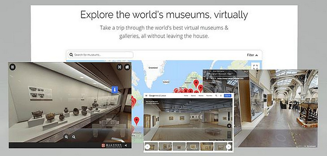 Explore the World's Museums 網站
