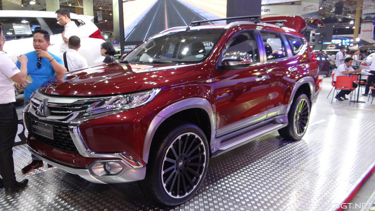 The montero sport is the hottest seller for mitsubishi in the philippines and just had a totally new version go on sale