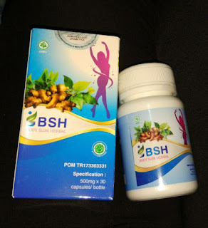 NEW Body Slim Herbal BSH BPOM