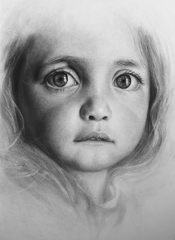 10-Bright-Eyes-Liu-Ling-Faces-of-Writers-in-Charcoal-Drawings-www-designstack-co