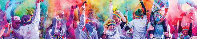 Cea mai colorata cursa pe strazile Timisoarei are loc sambata – The Color Run 2017!