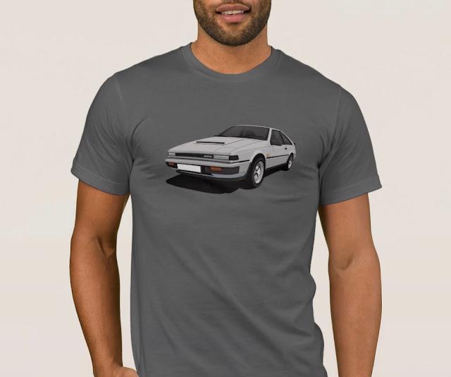 Nissan Silvia Gazelle 200SX (S12) car shirts