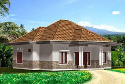 desain rumah kampung jawa